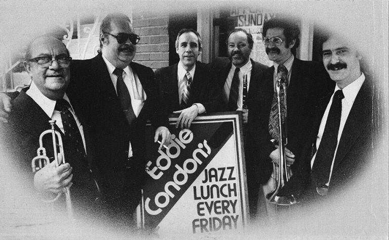 Band at Eddie Condon's 1980