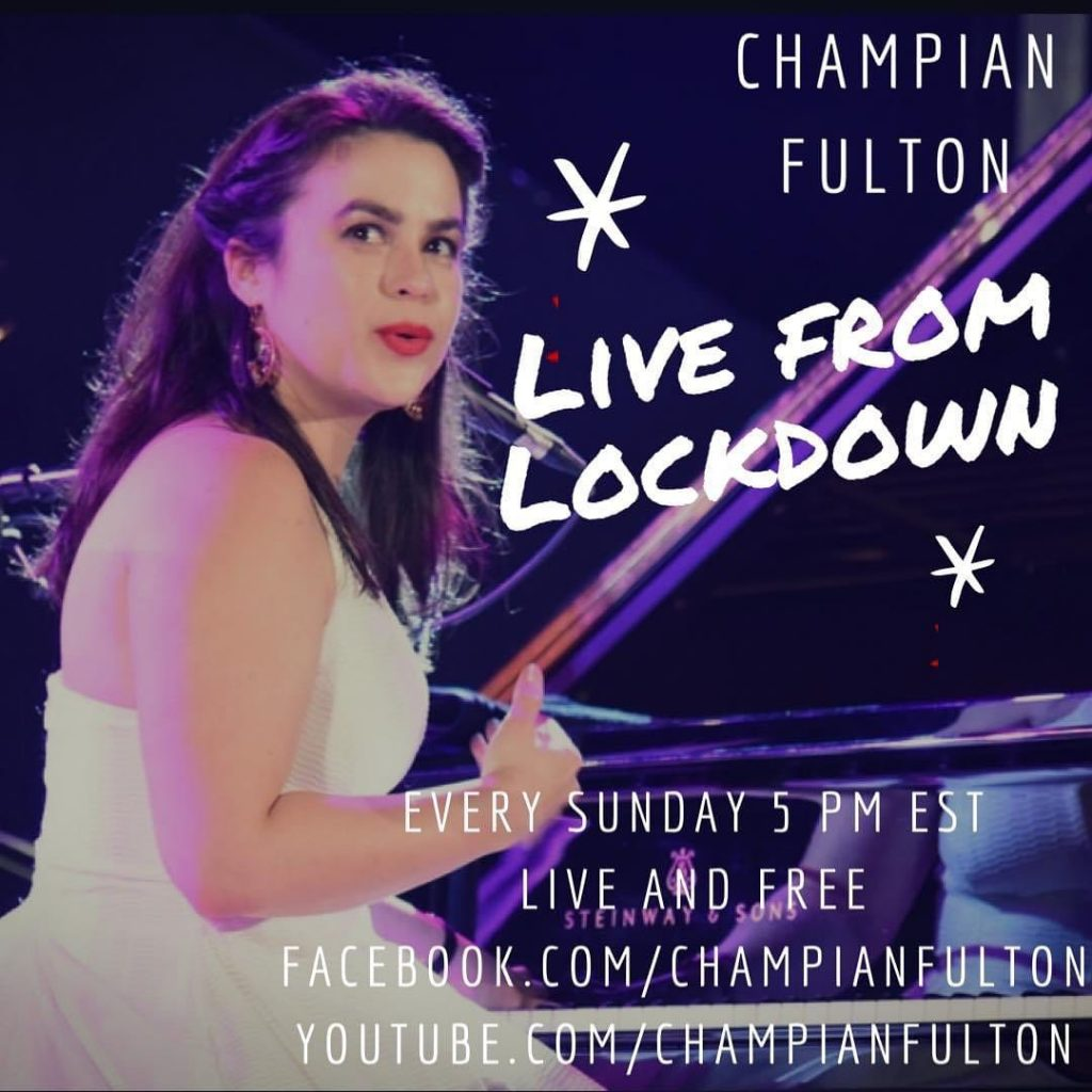 A cold live show with Champian Fulton