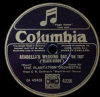 Columbia4238 The Plantation Orchestra