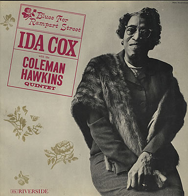 Ida Cox with the Coleman Hawkins Quintet