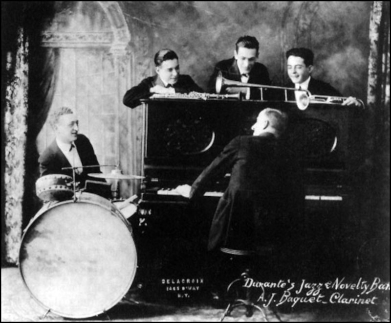 Jimmy Durante's Jazz and Novelty Band - 1918