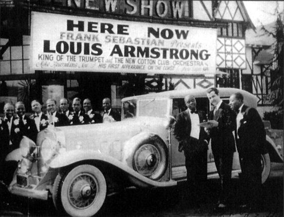 Louis Armstrong and his Sebastian New Cotton Club Orchestra