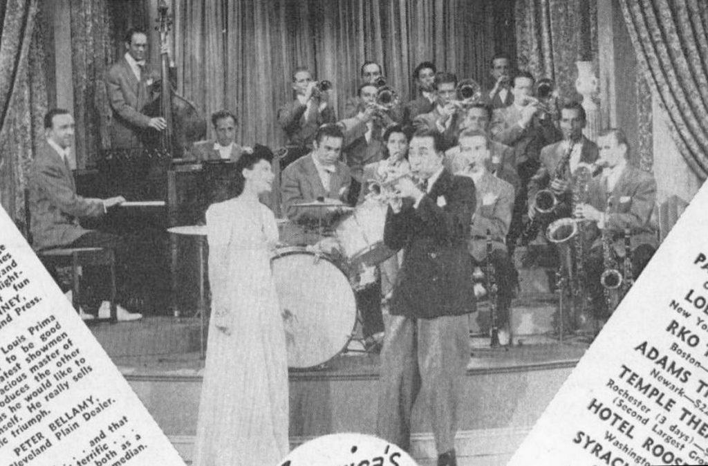 Louis Prima and band 1943