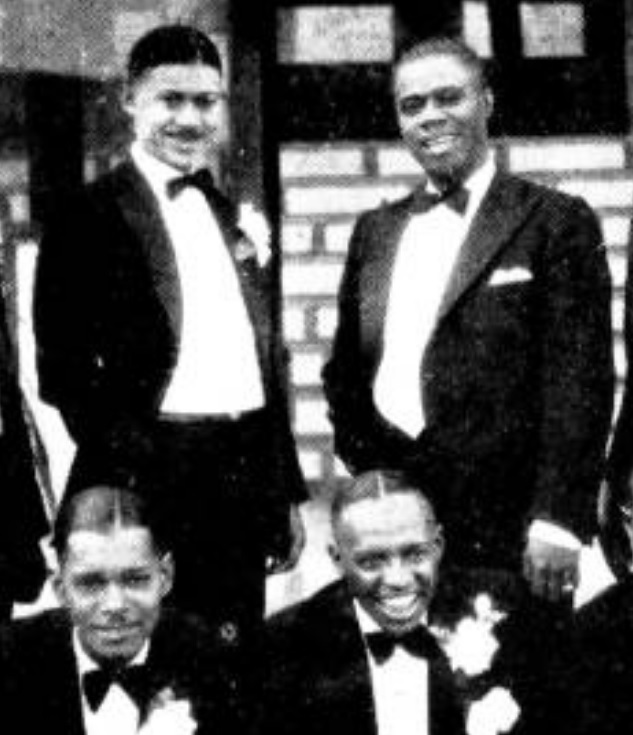 George Orendorff and Louis Armstrong 1930