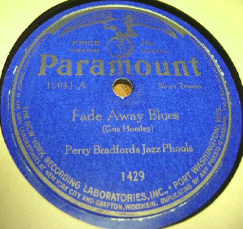 Perry Bradford Jazz Phools