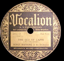 "Joseph ""Wingy"" Manone (1900-1982)"