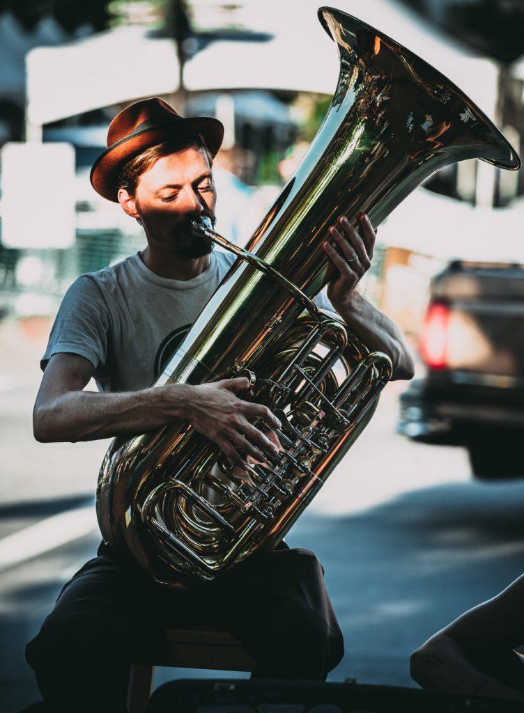 Eric Heveron-Smith tuba
