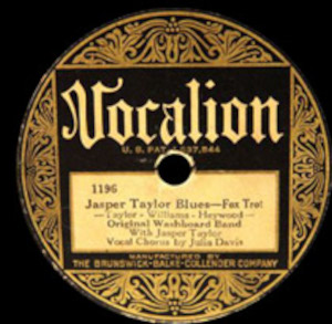 Original Washboard Band with Jasper Taylor