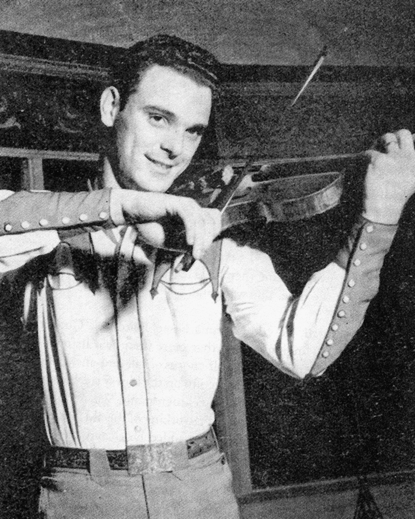 Bobby Bruce in Tulsa circa 1950.