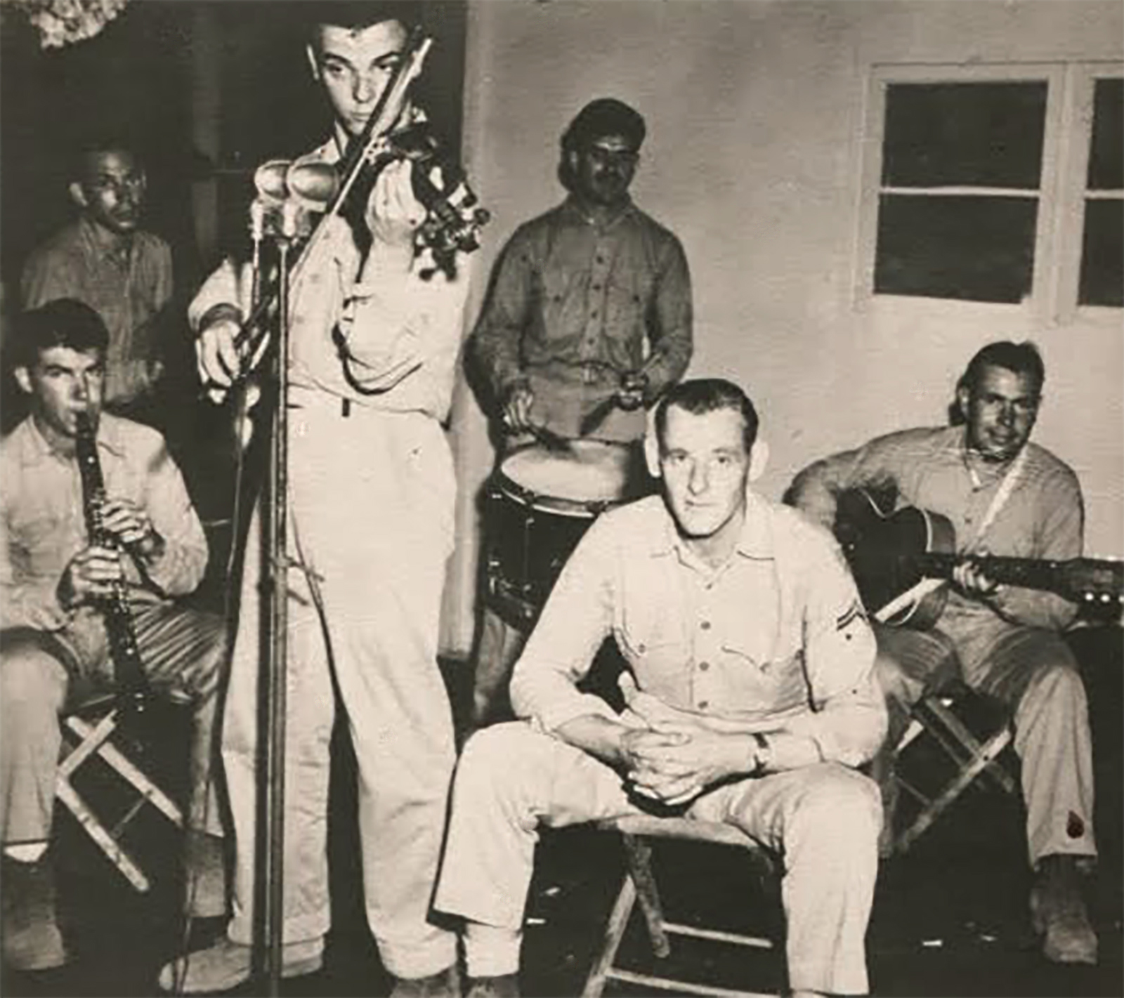 Bobby Bruce in WWII