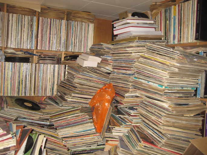 Hoarder Record Collection