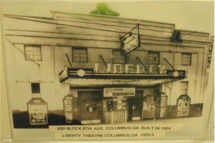 Liberty Theater Columbus GA 1950s