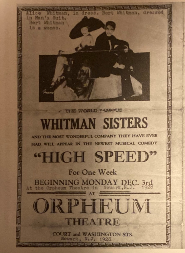 Ad for the Orpheum Theatre, 1928