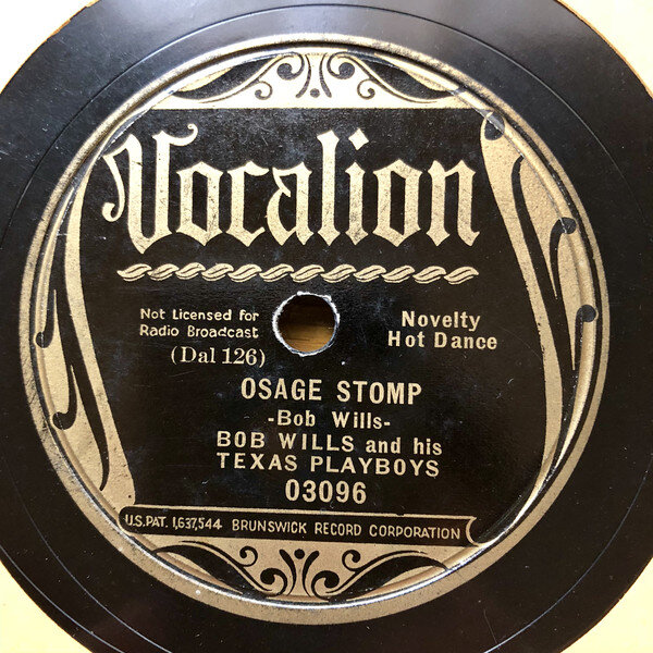 Bob Wills Stomps and Swings Western Style