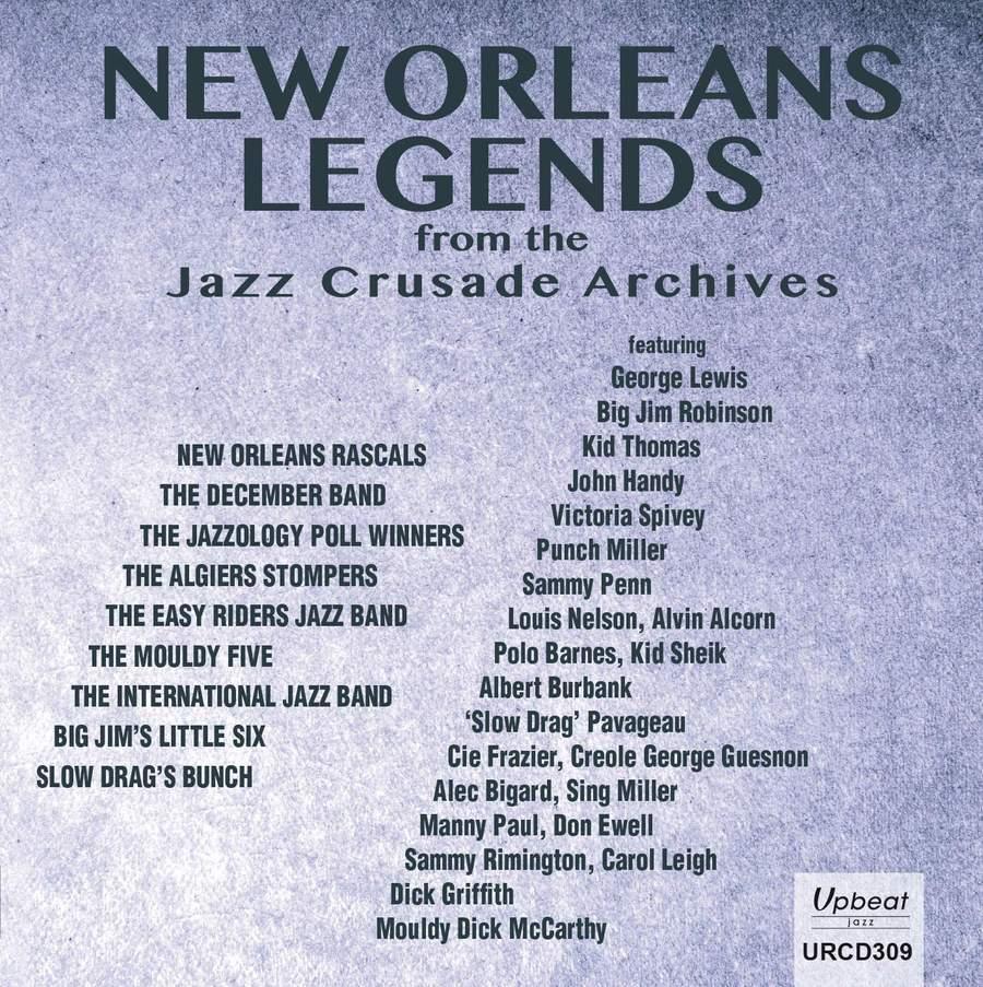 New Orleans Legends CD