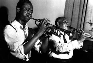 Frankie Newton and Sidney Bechet, June 8, 1939