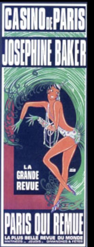 Josephine Baker acc. by Melodic-Jazz du Casino de Paris