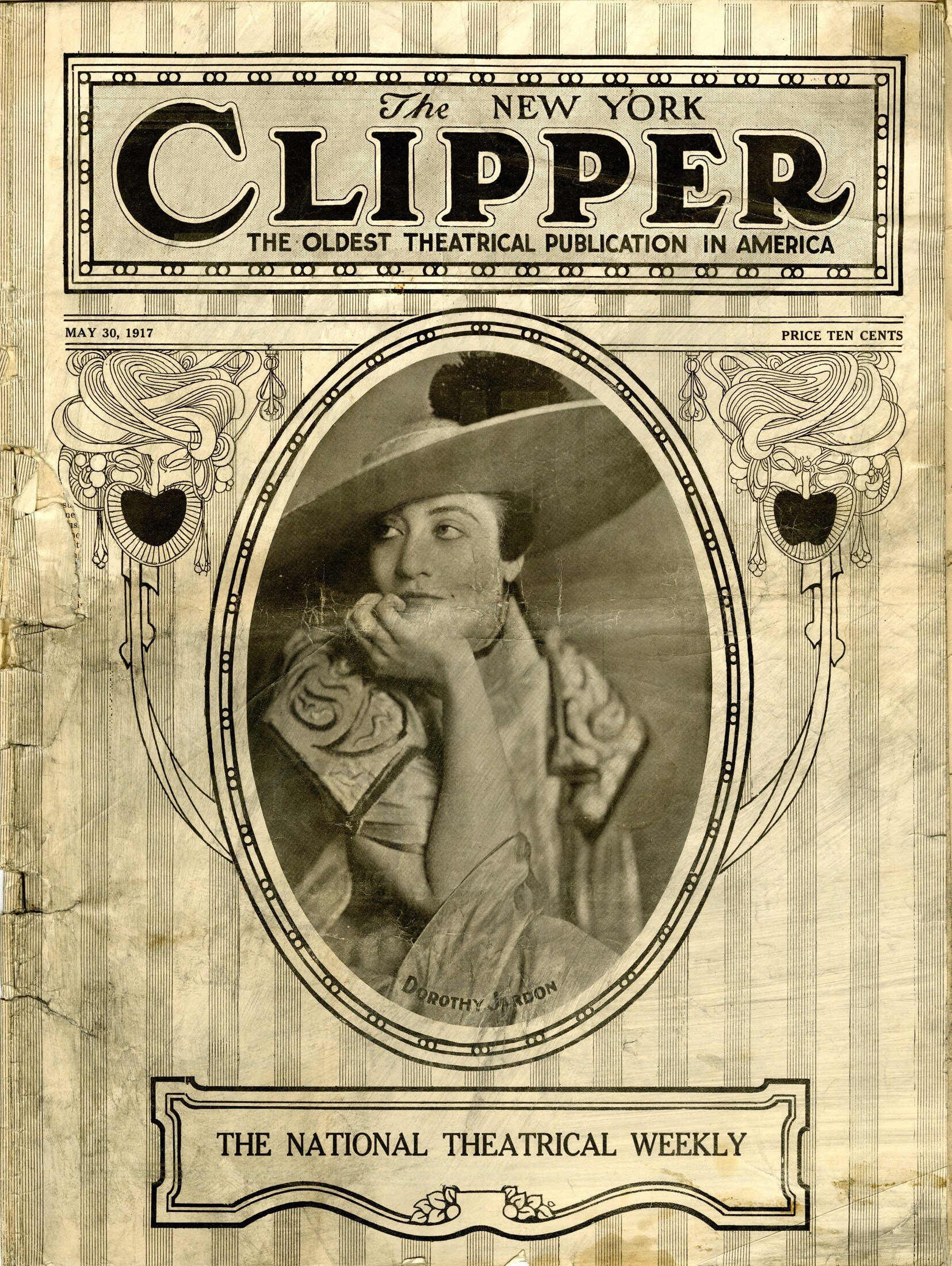The New York Clipper, May 26, 1917.