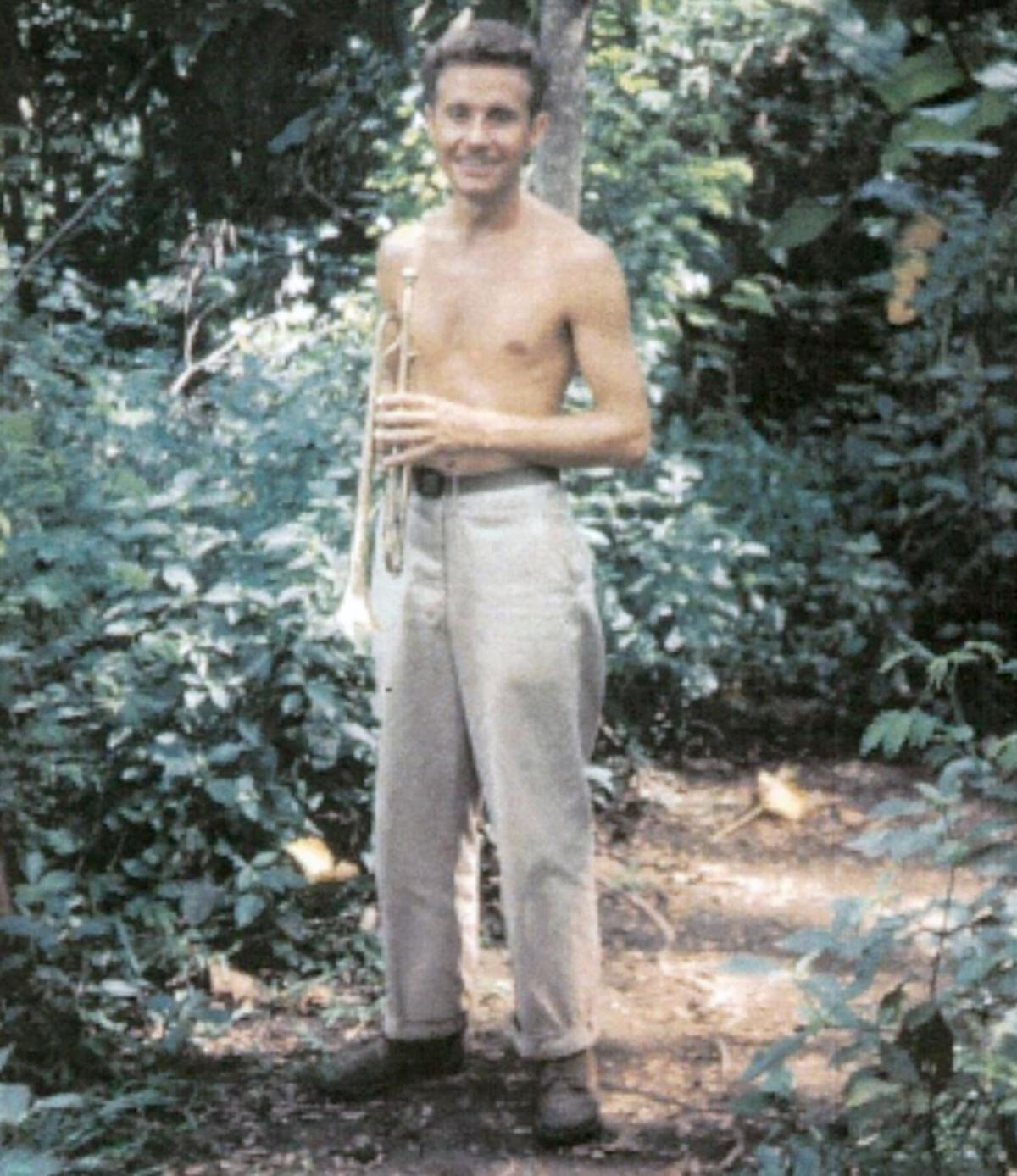 PFC Richard Burt Luzon jungle
