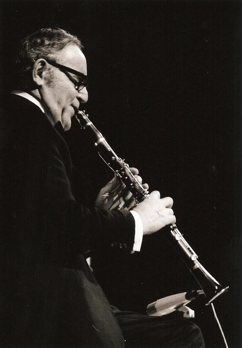 Benny Goodman, 1971.