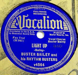 Buster Bailey and his Rhythm Busters