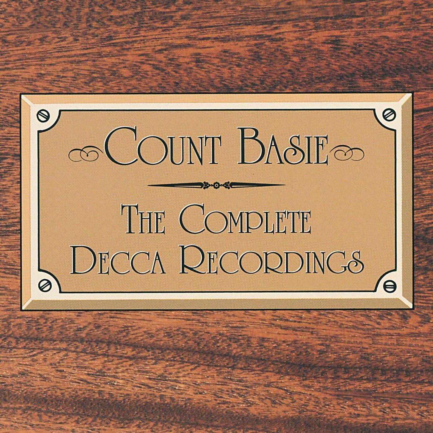 Count Basie – The Complete Decca Recordings (GRP/Decca)