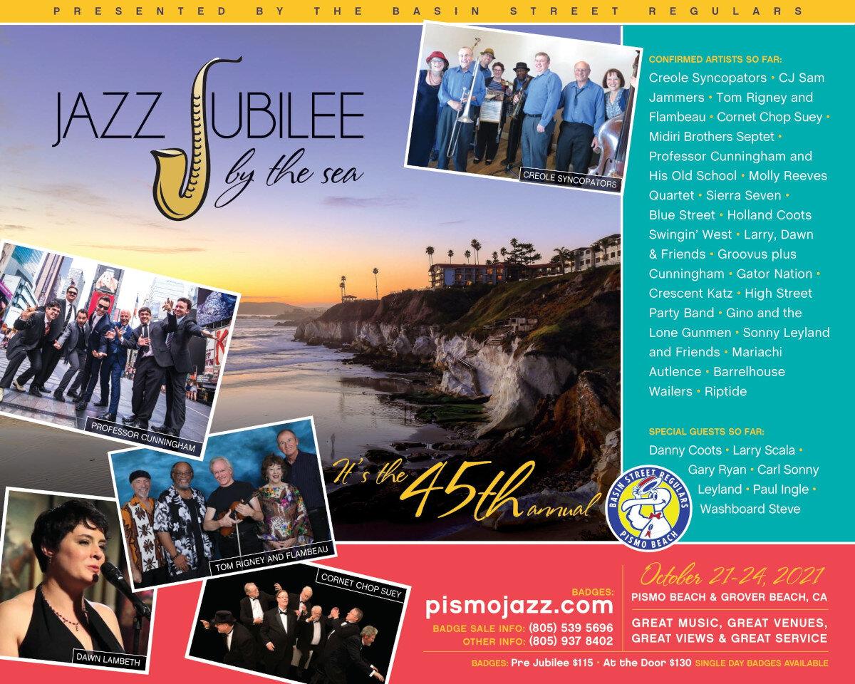 Pismo Jazz Jubilee updates
