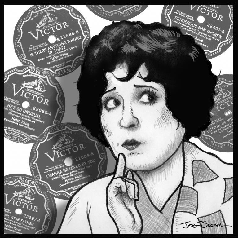 Helen Kane by Joe Busam