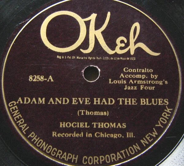 Hociel Thomasacc. byLouis Armstrong'sJazz Four
