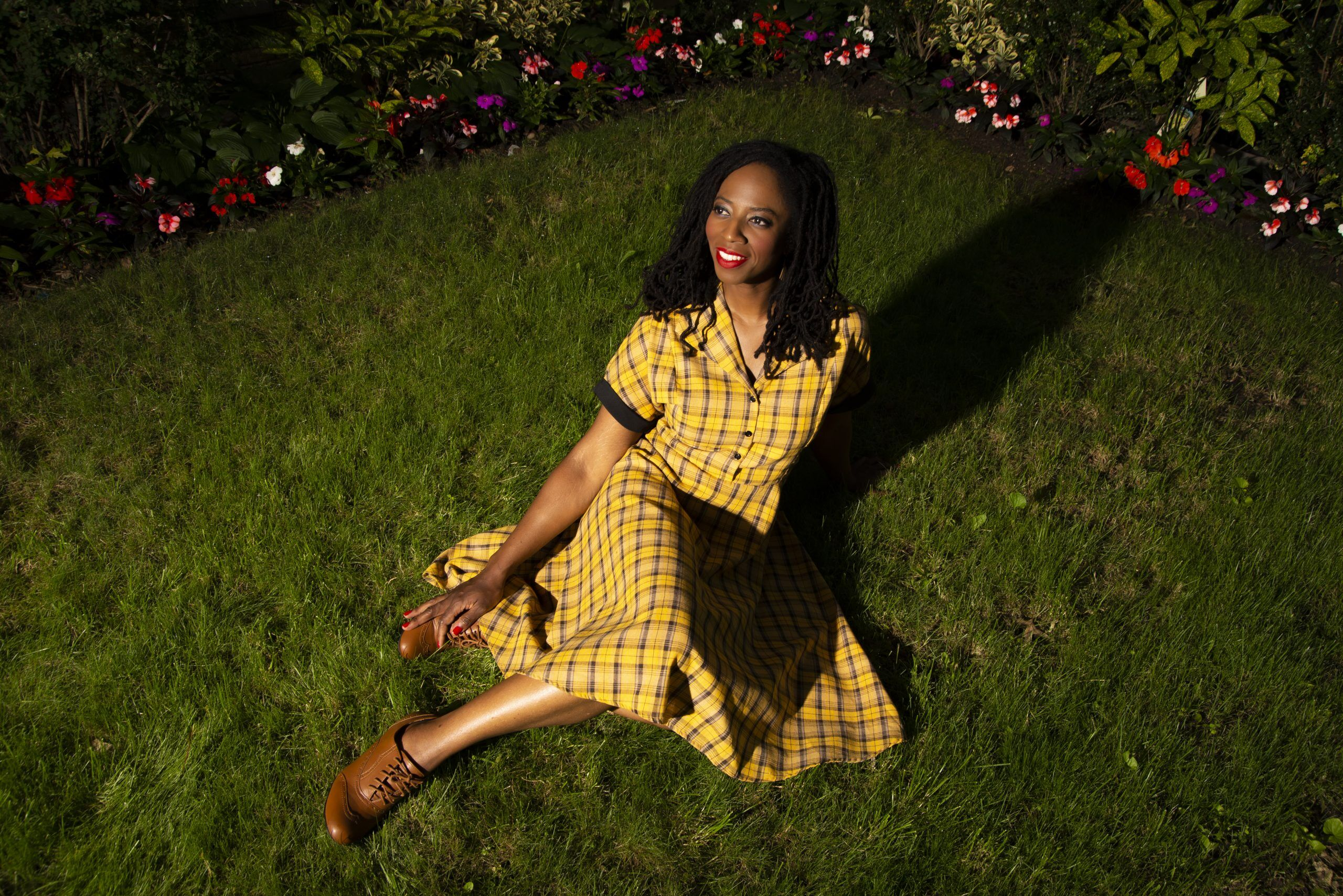 Risa Branch In Grass- Photo by Aidan Grant_Horizontal
