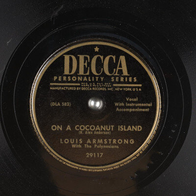 Louis Armstrong with the Polynesians