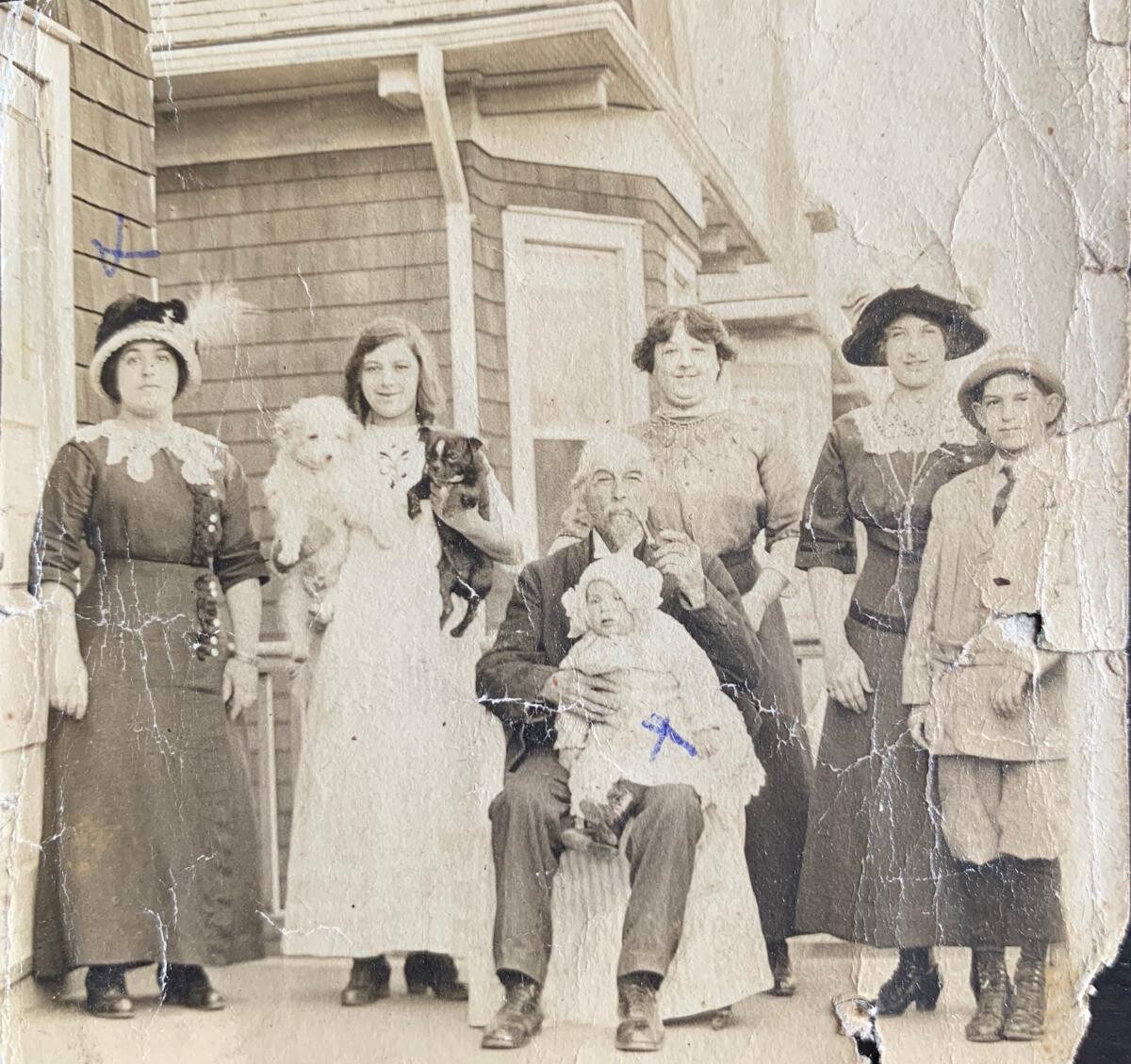 Elsie Patz and etc. c.1911