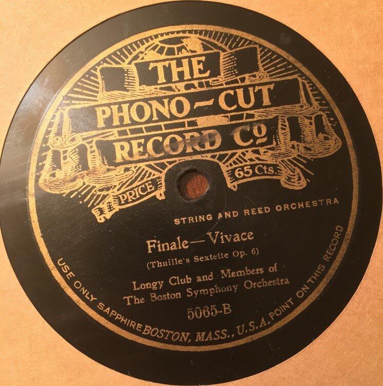 Longy club phono cut