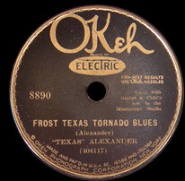 Texas Alexander acc. by the Mississippi Sheiks