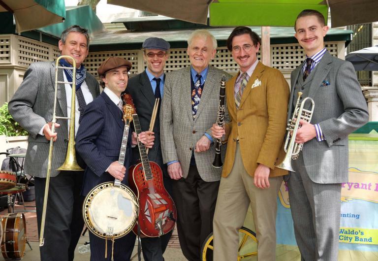 Terry Waldo's Gotham City Jazz Band FB