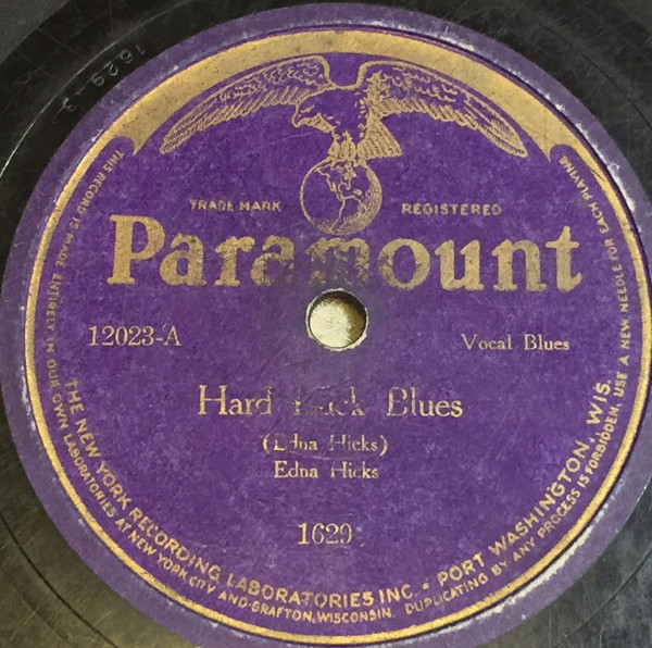 Edna Hicks acc. by Lovie Austin and her Blues Serenaders