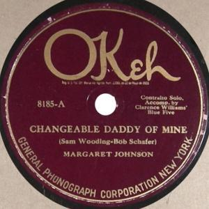 Margaret Johnson acc. by Clarence Williams' Blue Five